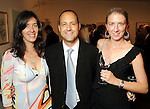 From left: Christina Gee with Gerardo and Emily Amelio at the after party of the Abracadabra 2010 Gala at the Blaffer Art Museum Friday April 30,2010.  (Dave Rossman Photo)