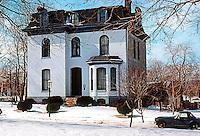 MO.: St. Louis--House, Benton Place. Photo '77.