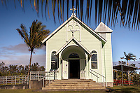 The Star of the Sea Painted Church in Kalapana, Big Island.