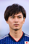 Minamino Takumi of Japan is seen prior to the AFC Asian Cup UAE 2019 Group F match between Oman (OMA) and Japan (JPN) at Zayed Sports City Stadium on 13 January 2019 in Abu Dhabi, United Arab Emirates. Photo by Marcio Rodrigo Machado / Power Sport Images
