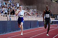 9th July 2021, Monaco, France; Diamond League Athletics, Herculis meeting, Monaco; Karsten Warholm Nor, Alison DSantBrazil