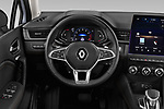 Car pictures of steering wheel view of a 2020 Renault Captur Initiale Paris 5 Door SUV