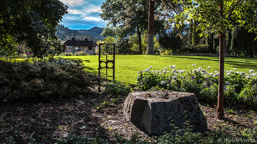 Fine Art Landscape Photograph of the Summerland Ornamental Gardens in British Columbia, Canada