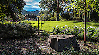 Fine Art Landscape Photograph of the Summerland Ornamental Gardens in British Columbia, Canada