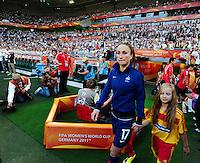 Fifa Women's World Cup Germany 2011 : France - Germany ( Frankrijk - Duitsland ) at Munchengladbach World Cup stadium : Gaetane THINEY.foto DAVID CATRY / Vrouwenteam.be