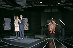 Lawrence Ho chairman and CEO of Melco Resorts and Entertainment Ltd.,speaks during the opening ceremony for the KIMONO ROBOTO exhibition at Omotesando Hills on November 30, 2017, Tokyo, Japan. The exhibition features 13 kimonos created by experts using traditional methods and a humanoid robot dressed in traditional kimono performing in the middle of the hall. The exhibition runs til December 10. (Photo by Rodrigo Reyes Marin/AFLO)
