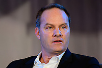 Philadelphia, PA - Saturday January 20, 2018: Eric Wynalda during the U.S. Soccer Federation Presidential Election Candidates Forum hosted by US Youth Soccer at the Philadelphia Marriott Downtown Grand Ballroom.