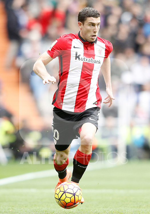 Athletic de Bilbao's Oscar de Marcos during La Liga match. February 13,2016. (ALTERPHOTOS/Acero)