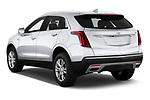 Car pictures of rear three quarter view of 2020 Cadillac XT5 Premium-Luxury 5 Door SUV Angular Rear