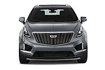 Car photography straight front view of a 2022 Cadillac XT5 Premium-Luxury-2.0L-FWD 5 Door suv Front View