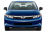 Straight front view of a 2012 Honda Civic Sedan DX