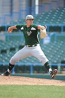 University of South Florida Bulls pitcher Tommy Peterson (37) during a game against the Temple University Owls at Campbell's Field on April 13, 2014 in Camden, New Jersey. USF defeated Temple 6-3.  (Tomasso DeRosa/ Four Seam Images)