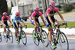 Lampre-Merida team in the peloton during Stage 7 of the 2015 Presidential Tour of Turkey running 166km from Selcuk to Izmir. 2nd May 2015.<br /> Photo: Tour of Turkey/Mario Stiehl/www.newsfile.ie