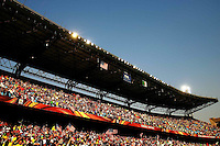 General View of the Loftus Versfeld Stadium as Algeria play against USA. USA defeated Algeria 1-0 in stoppage time in the 2010 FIFA World Cup at Loftus Versfeld Stadium in Pretoria, Sourth Africa, on June 23th, 2010.