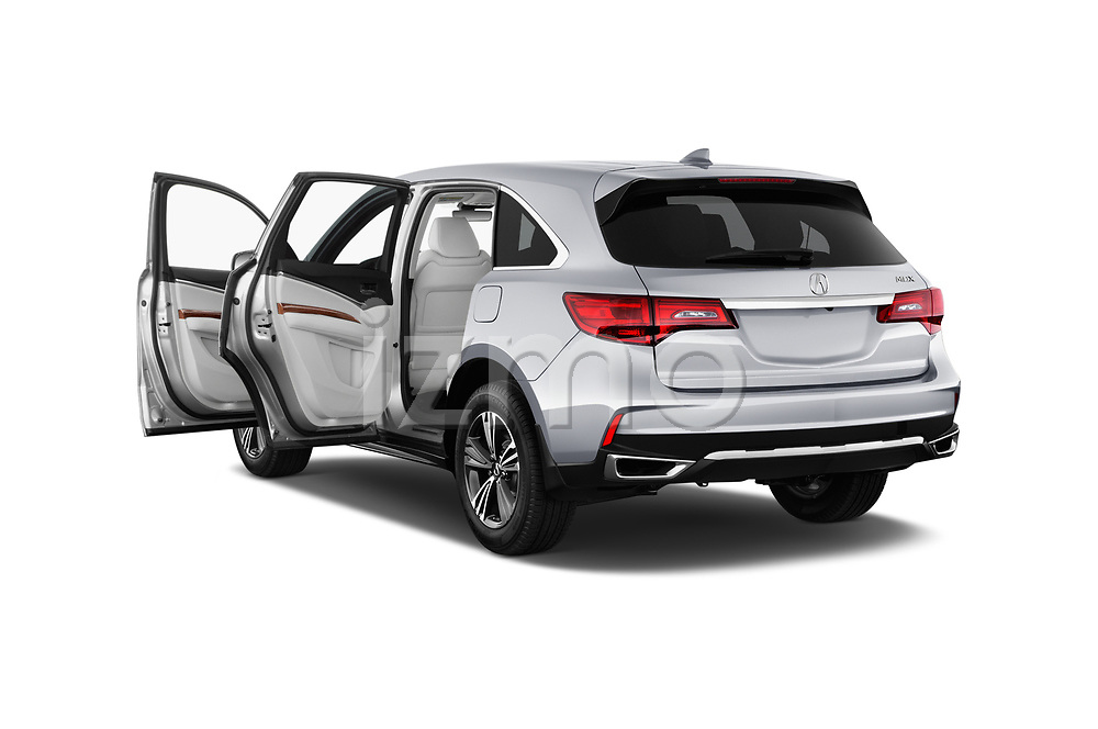 Close up view of 2020 Acura mdx Base 5 Door SUV doors