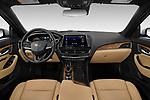 Stock photo of straight dashboard view of 2020 Cadillac CT5 Premium-Luxury 4 Door Sedan Dashboard