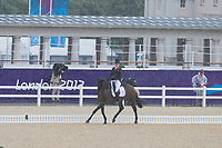 GBR-Kristina Cook (MINERS FROLIC) 2012 LONDON OLYMPICS (Sunday 29 July 2012) EVENTING DRESSAGE: INTERIM-14TH (42.00)