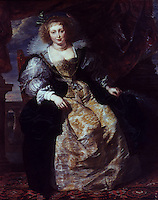 Peter Paul Rubens 1577-1640. Helene Fourment. Reference only.
