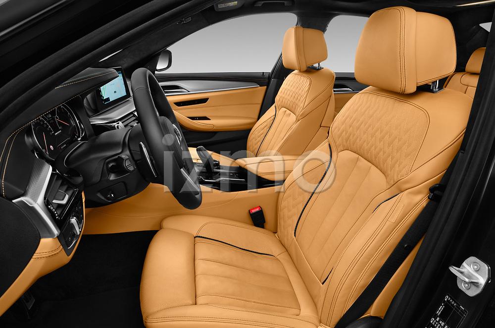 Front seat view of a 2018 BMW 5 Series base 4 Door Sedan front seat car photos