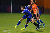 Michael Cheek of Bromley F.C. scores the third Goal and celebrates during Barnet vs Bromley, Vanarama National League Football at the Hive Stadium on 14th November 2020