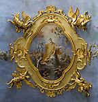 ITA, Italien, Umbrien, Assisi: Fresko - Deckenmalerei | ITA, Italy, Umbria, Assisi: fresco - mural painting