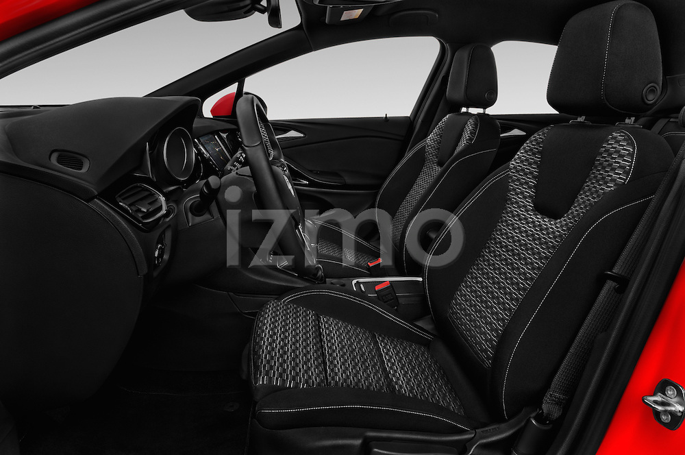 Front seat view of 2016 Opel Astra Dynamic 4 Door Hatchback Front Seat  car photos