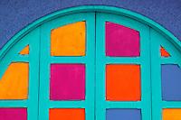Colorful doorway, San Jose, Costa Rica