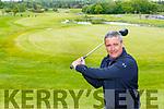 Killarney Captain Harry O'Neill back into the swing of playing golf in Killarney Golf club on Monday