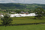 The new festival site, a ten minute walk from the center of town. The Hay Festival, Hay on Wye, Powys, Wales, Great Britain. 2006.