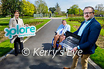 Tralee Chamber Alliance launch their new website Tralee.ie and a mobile app on Friday. Front right: Ken Tobin. Back l to r: Norma Foley TD and Cllr Terry O'Brien, Mayor of Tralee.