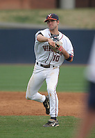 Tyler Cannon of the Virginia Cavaliers vs. the Miami Hurricanes:  March 24th, 2007 at Davenport Field in Charlottesville, VA.  Photo By Mike Janes/Four Seam Images