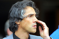 ATTENTION SPORTS PICTURE DESK<br /> Pictured: Paulo Sousa Manager of Swansea City<br /> Re: Coca Cola Championship, Swansea City Football Club v Cardiff City FC at the Liberty Stadium, Swansea, south Wales. Saturday 07 November 2009