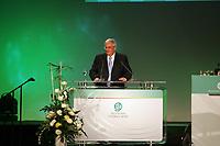 Ansprache von DFB-Präsident Dr. Theo Zwanziger<br /> 39. Ordentlicher DFB-Bundestag in der Rheingoldhalle<br /> *** Local Caption *** Foto ist honorarpflichtig! zzgl. gesetzl. MwSt. Es gelten ausschließlich unsere unter <br /> <br /> Auf Anfrage in hoeherer Qualitaet/Aufloesung. Belegexemplar an: Marc Schueler, Am Ziegelfalltor 4, 64625 Bensheim, Tel. +49 (0) 6251 86 96 134, www.gameday-mediaservices.de. Email: marc.schueler@gameday-mediaservices.de, Bankverbindung: Volksbank Bergstrasse, Kto.: 151297, BLZ: 50960101