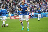 Kolbeinn Sigthórsson (Island) - UEFA EURO 2016: Frankreich vs. Island, Stade de France, Viertelfinale