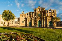 Kathedrale von Cajamarca aus dem 17./18. Jahrhundert, Provinz Cajamarca, Peru, Südamerika, Amerika