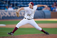 John Gast #22 of the Florida State Seminoles in action versus the Boston College Eagles at Durham Bulls Athletic Park May 20, 2009 in Durham, North Carolina. (Photo by Brian Westerholt / Four Seam Images)
