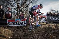 Mathieu Van der Poel (NED/Beobank-Corendon)<br /> <br /> men's race<br /> CX Soudal Classics Leuven/Belgium 2017