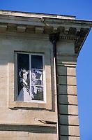 Europe/France/Provence-Alpes-Côte d'Azur/84/Vaucluse/Avignon: détail mur peint sur le theme du théatre