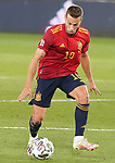 Spain's Sergio Canales during UEFA Nations League 2020 League Phase match. October 10,2020.(ALTERPHOTOS/Acero)