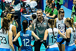Team coach Guillermo Orduna of Argentina talks during the match between Argentina and Italy on May 30, 2018 in Hong Kong, Hong Kong. Photo by Marcio Rodrigo Machado / Power Sport Images