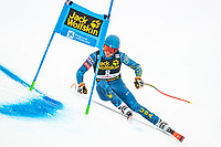 29th December 2020; Stelvio, Bormio, Italy; FIS World Cup Super for Men; winner Ryan Cochran Siegle of the USA in action during his run