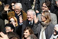 CLAUDE RICH - OBSEQUES D'ALAIN RESNAIS, EN L'EGLISE SAINT VINCENT DE PAUL.