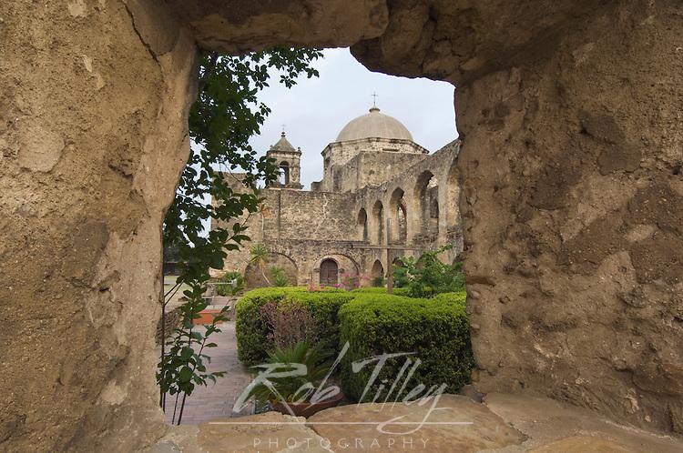 Texas, San Antonio, San Antonio Missions NHP, Misison San Jose Y San Miguel de Aguayo