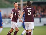 18.07.18 Cove Rangers v Hearts: Steven MacLean celebrates his goal