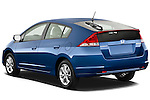 Rear three quarter view of a 2010 Honda Insight EXL