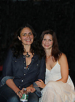 09-22-11 OLTL Cusi Cram (author) & Florencia Lozano play reading Fuente Ovejuna, New York City, NY