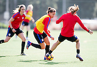 Carson, CA - January 19, 2017: The USWNT trains during January Camp.