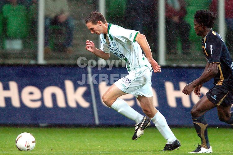 groningen - sparta  eredivisie seizoen 2007-2008 29-09- 2007 *** Local Caption ***