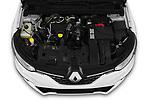 Car Stock 2020 Renault Megane Intens 5 Door Wagon Engine  high angle detail view