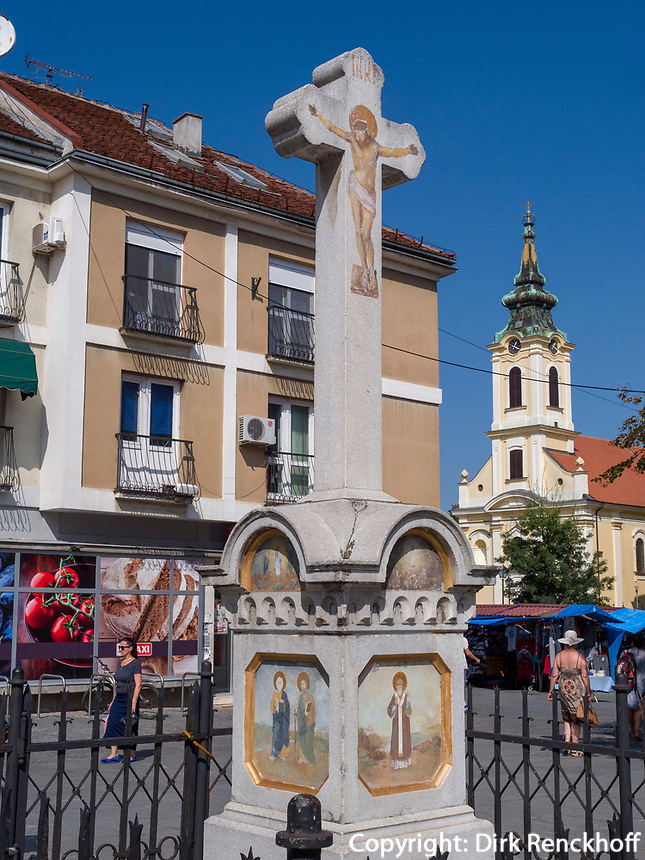 Zentrum von Zemun, Belgrad, Serbien, Europa<br /> Zemmun center; Belgrade; Serbia; Europe